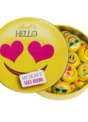 Швейцарский шоколад Lindt Hello Mini Emojis
