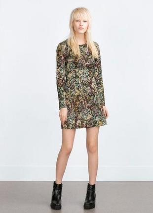 Крутое платье с интересным принтом