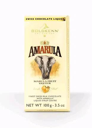 🍫Amarula🍫  Швейцарский шоколад Goldkenn Amarula с Amarula.