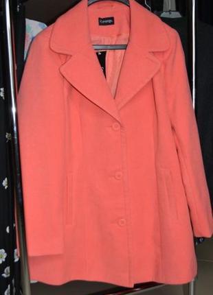 Пальто женское большого размера 54 george англия