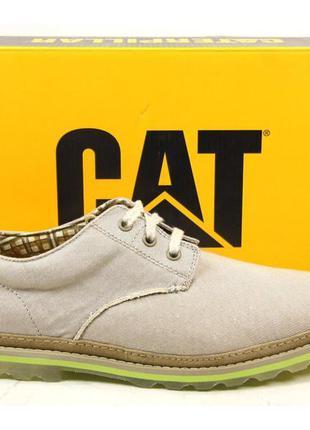 Туфли оксфорд  cat caterpillar мужские оригинал из сша