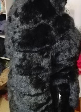 Шуба кролик- трансформер