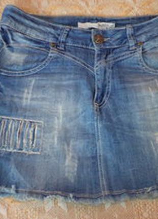 фирменная джинсовая юбка из Германии