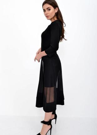 Платье женское 119r461f цвет черный