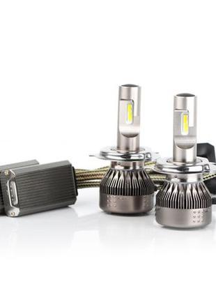 Светодиодные авто LED лампы H4 H7 H1 премиум качества лед лэд ...