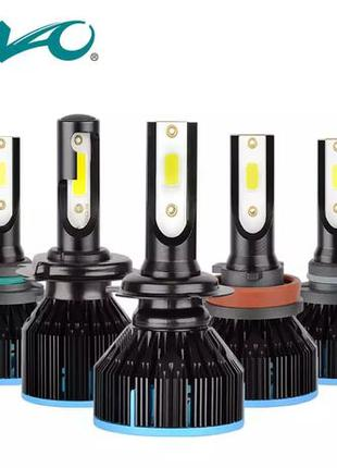 S5 H7 Светодиодные LED лампы в авто фары H1 H4 xenon лед лампо...