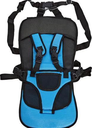 Автокресло Multi Function Car Cushion голубое