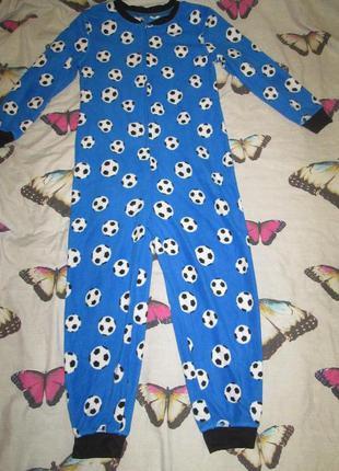 Пижама , слип человечек ,кигуруми на 7-8 лет