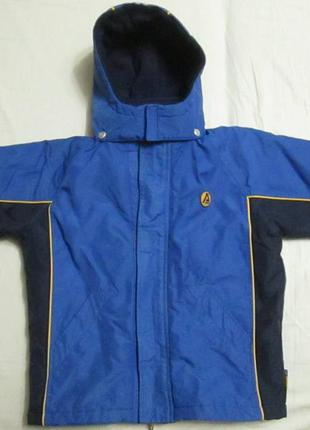 Термо деми куртка на 6 лет