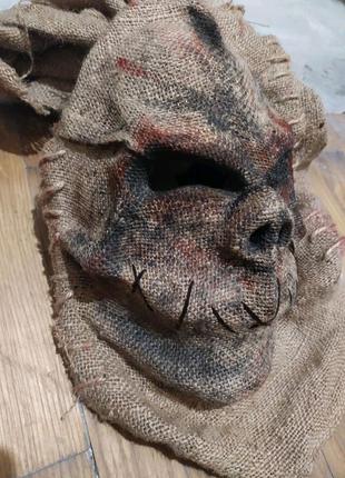 Маска пугало на хэллоуин