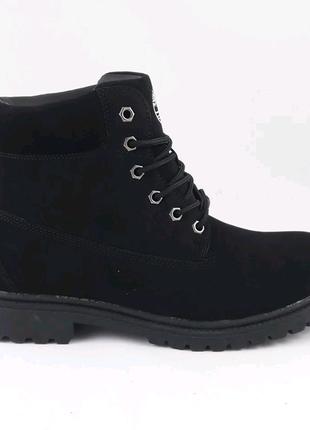 Мужские ботинки мех Timberland
