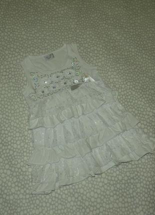 Нарядная блузка 6-7 лет