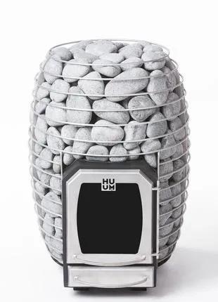 Дровяная каменка для бани и сауны HUUM HIVE WOOD 13 без выноса