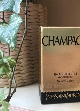 """Туалетная вода yves saint laurent """"champagne"""""""