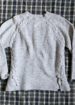 Теплий зимовий светр