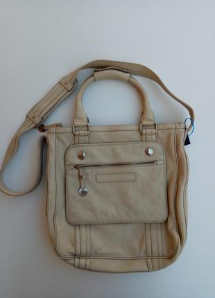 Кожаная сумка marc by marc jacobs, оригинал