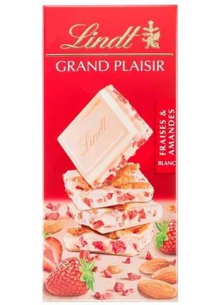 Швейцарский белый шоколад Lindt GRAND PLAISIR