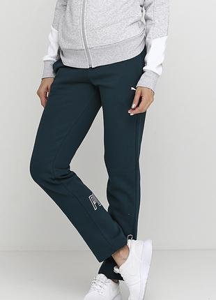 Штаны puma (оригинал). Спортивные штаны. Штаны на флисе.