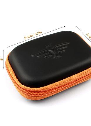 Трендовый чехол (мини сумка)  для гарнитуры наушников, USB кабеля