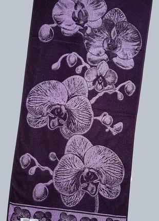 """Полотенце махровое """"орхидея"""" 67*150"""