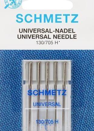 Игла  для бытовой швейной машины Schmetz 130/705 №80