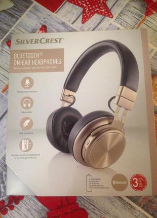 Беспроводные Bluetooth наушники Silver Crest