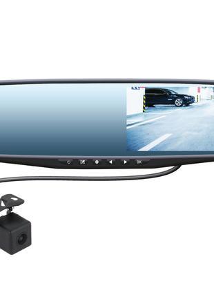 Зеркало-видеорегистратор SWAT VDR-4U c камерой заднего вида