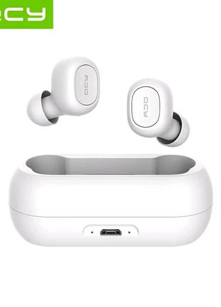 QCY T1, qcy qs1 TWS Полностью раздельные Bluetooth 5.0 наушники