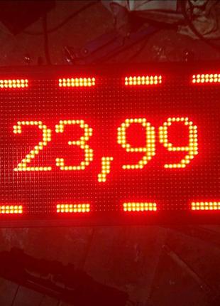Led панель,бегущая строка, монитор для рекламы, 700мм на 380мм