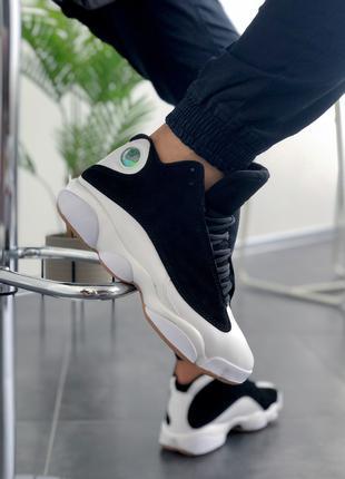 "Мужские кроссовки Nike Air Jordan 13 ""Retro Black/White"""