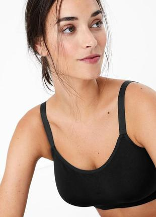 Бюст marks & spencer 34dd 75e flexifit™ cotton rich full cup c...
