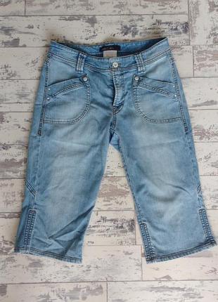 Marc cain джинсовые шорты бриджи