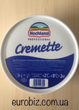 Крем сыр Хохланд Кремете 2кг Германия