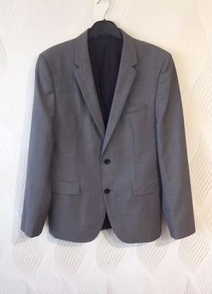Мужской шерстяной пиджак Hugo Boss