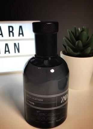 Zara rich leather парфюмерия туалетная вода духи