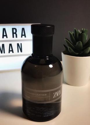 Zara gourmand leather туалетная вода духи парфюмерия