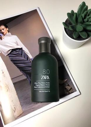 Zara 8.0 man оригинал испания 🇪🇸 духи туалетная вода парфюмерия