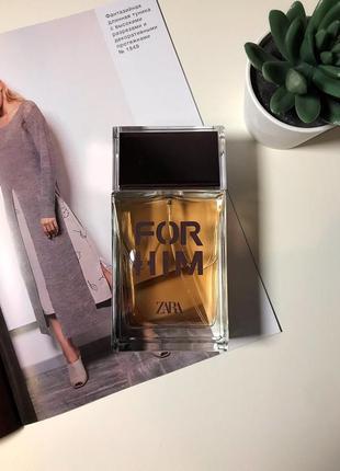 Zara for him духи парфюмерия туалетная вода