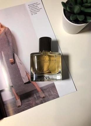 Zara vibrant leather ou духи парфюмерия туалетная вода