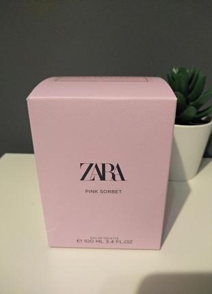 Zara pink sorbet духи парфюмерия туалетная вода