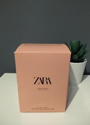 Zara idle day духи парфюмерия туалетная вода
