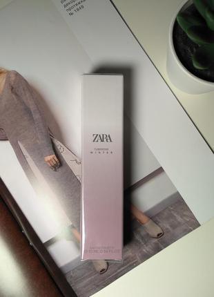 Zara tuberose winter духи парфюмерия туалетная вода