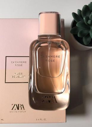 Zara cashmere rose духи парфюмерия туалетная вода женские
