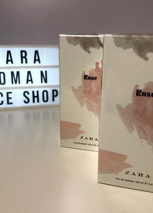 Zara rose  духи парфюмерия туалетная вода