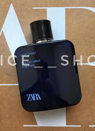 Zara man blue spirit духи парфюмерия туалетная вода