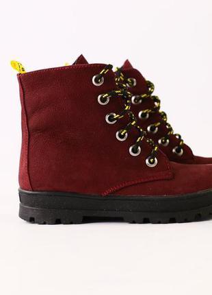 Зимние детские ботинки на девочку