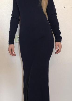 Длинное платье в пол или по косточки