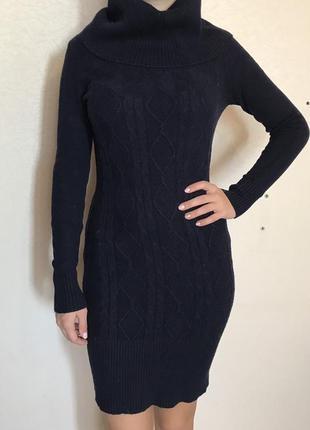 Теплое супер платье на зиму