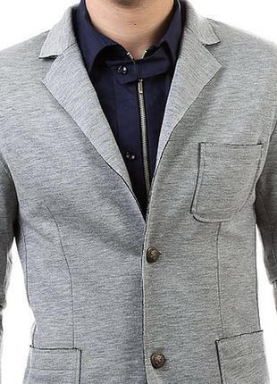 Мужской трикотажний пиджак zara