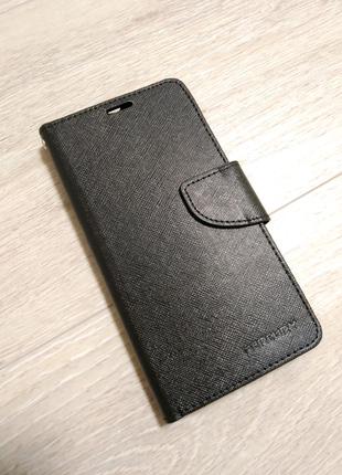 Xiaomi Mi A1 чехол книжка черная